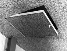 Karp 24 x 24 Sesame Concealed Grid Ceiling Hatch - Karp