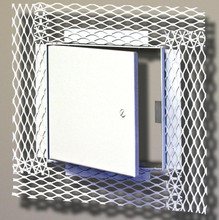 MIFAB 30 x 30 Flush Access Door with Frame and Plaster Finish - MIFAB