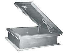 MIFAB 30 x 54 Galvanized Steel Roof Hatch - MIFAB