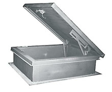 30 x 96 Galvanized Steel Roof Hatch - MIFAB