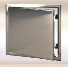 FF Systems 20 x 20 Access Panel - Steel Sheet with Touch Latch - Stainless Steel - FF Systems