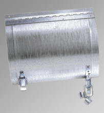 Acudor 10 x 8 Duct Door for Round Ducts with 9 Diameter - Acudor
