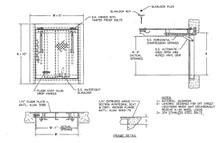 Acudor 30 x 30 Floor Door H20 Loading - Acudor