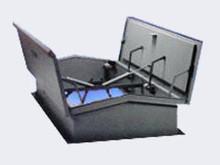 Acudor 36 x 36 Galvanized Steel Smoke Vent - Acudor