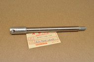 NOS Honda CR250 M MR250 MT250 XL250 XL350 Front Wheel Axle 44301-329-000