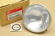 NOS Honda 1981-82 NX50 Express Sr Senior Headlight Unit 33120-187-671