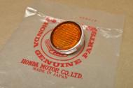 NOS Honda C70 CB100 CL100 CL70 CL90 CT70 K0 S90 SL125 SL70 SL90 Z50 K1-K2 Fork Reflector 33741-045-671