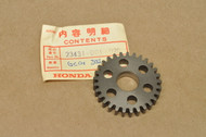 NOS Honda C100 C102 C105 T Transmission 2nd Second Gear 23431-001-020