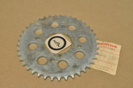 NOS Honda CB100 CB160 CL100 CL160 Rear Drive Chain Sprocket 41T 41201-107-000