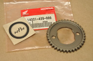 NOS Honda FT500 XL250 XL500 XR250 XR500 Cam Sprocket 14321-428-000