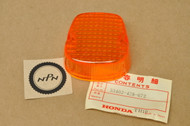 NOS Honda FT500 XL125 XL185 XL250 XL500 Turn Signal Lens 33402-428-672