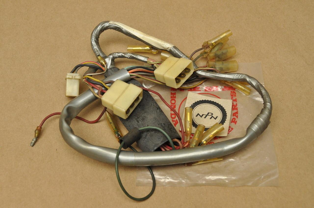 honda s90 wiring harness nos honda s90 sport 90 wire wiring harness late model 1968 32100  honda s90 sport 90 wire wiring harness