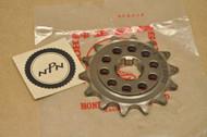 NOS Honda CR250 R CR450 R CR480 R CR500 R Front Drive Chain Sprocket 23802-467-000