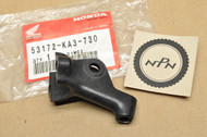 NOS Honda CR125 R CR250 R CR500 R Left Handlebar Clutch Perch Bracket 53172-KA3-730