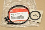 NOS Honda CR125 R CR250 R CR500 R GB500 XR650 Air Filter Connecting Tube Clamp Band 95018-70250