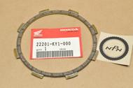 NOS Honda VF500 F VTR250 Clutch Friction Disk 22201-KY1-000