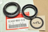 NOS Honda ATC250 R ATC350 CB650 CB750 GB500 VTR250 Front Fork Seal Set 51490-MA6-315