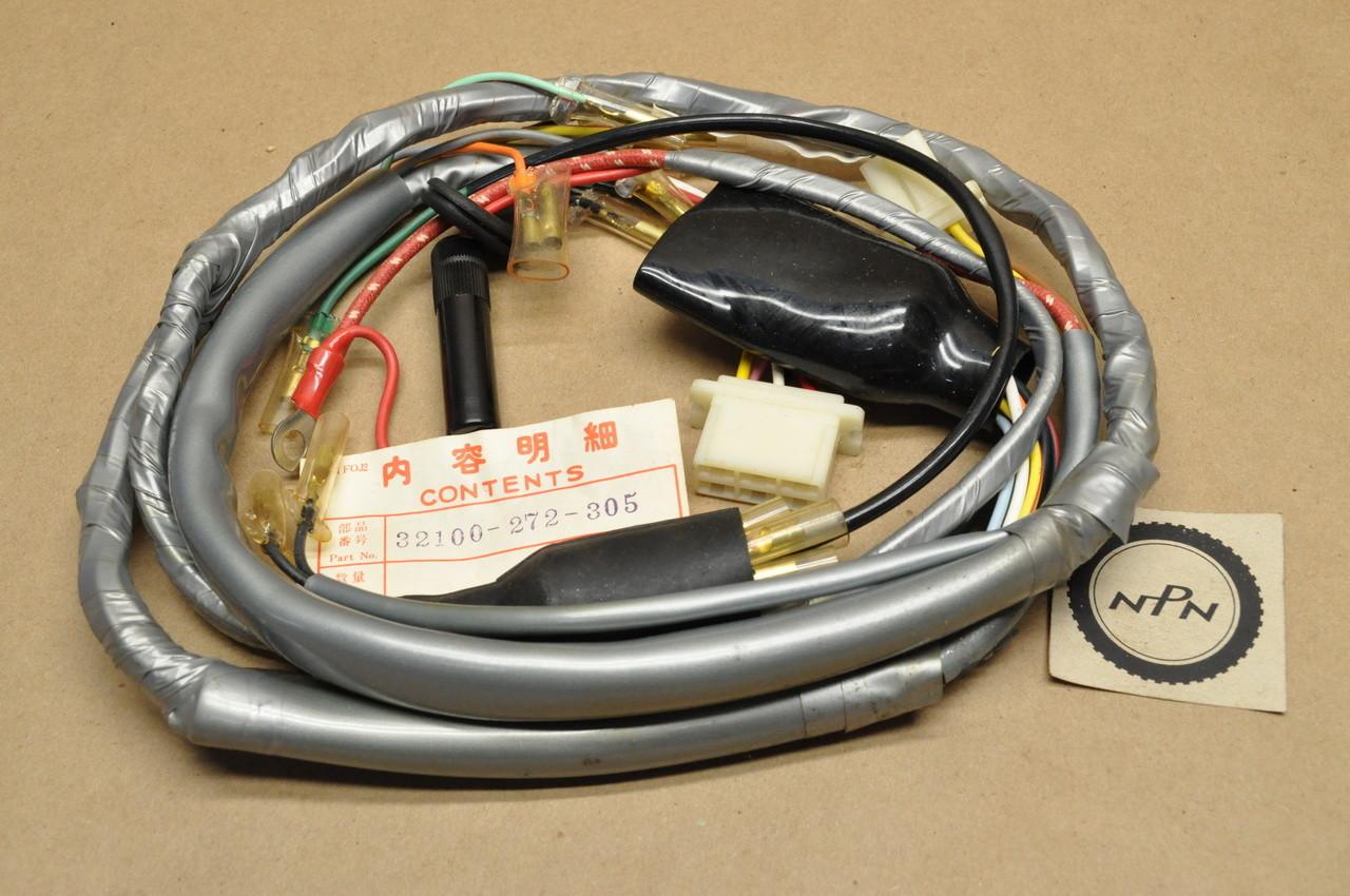 honda s90 wiring harness nos honda ca72 ca77 wire wiring harness 32100 272 305 nos parts now  nos honda ca72 ca77 wire wiring harness
