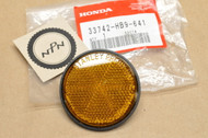 NOS Honda CB1000 CB125 CB450 CB650 CB750 CB900 CBX CM400 CM450 CMX250 NC50 PA50 XL100 XR250 Front Reflector 33742-HB9-641
