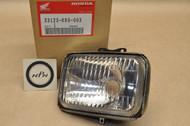 NOS Honda XR200 R XR250 R XR600 R Head Light Lamp 33123-KR9-003