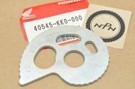 NOS Honda XR200 R XR250 R Left Drive Chain Adjuster 40545-KK0-000