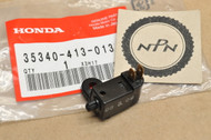 NOS Honda 1978 CB400A CB400 T CX500 GL1000 Gold Wing Front Brake Master Cylinder Switch 35340-413-013