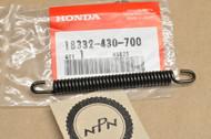 NOS Honda ATC250 R CR125 R CR250 R FL350 R FL400 R TRX250 R Fourtrax Exhaust Muffler Pipe Spring 18332-430-700
