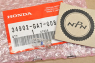 NOS Honda CB125 CT70 CT110 XL80 XL100 XL125 XL185 XR350 Speedometer or Pilot Light Bulb 6V/3W 34902-GA7-008