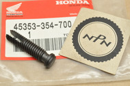 NOS Honda CB125 CB200 FL250 Brake Caliper Adjusting Bolt 45353-354-700