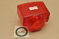 NOS Honda C100 C102 C105 C110 CA160 C200 CA72 CA77 CA95 CB72 CB77 CB92 CL72 CL77 S65 S90 Taillight Lens 33701-268-680