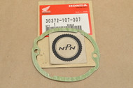 NOS Honda CB100 CB125 CL100 CL125 CT125 SL100 SL125 TL125 XL100 XL125 Points Cover Gasket 30372-107-307