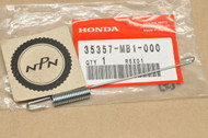 NOS Honda VF500 F Interceptor VF700 VF750 Magna Brake Stop Switch Spring 35357-MB1-000