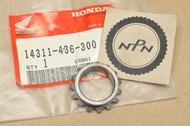 NOS Honda XL100 S XR100 R Crank Shaft Timing Sprocket 15T 14311-436-300