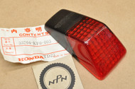 NOS Honda XR200 R XR250 R XR350 R XR500 R Tail Light Lens 33704-KF0-003