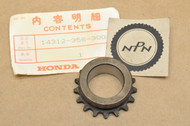 NOS Honda TL250 1976 XL250 XL350 K0-K1 1976-78 Crank Shaft Timing Sprocket 14312-356-300