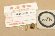 NOS Honda ATC90 CL90 CT70 CT90 K0-K6 1976-77 S90 ST90 Carburetor Float Valve Set 16011-070-004