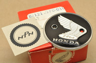 NOS Honda CL90 S90 Right Fuel Tank Badge Emblem 87121-070-010