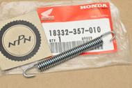 NOS Honda CR80 R CR125 M CR250 R FL250 MR175 MR250 MT125 MT250 Exhaust Muffler Pipe Spring 18332-357-010