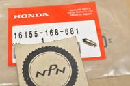NOS Honda ATC125 M NB50 NQ50 SE50 TG50 TRX125 TRX70 Carburetor Float Valve 16155-168-681