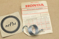 NOS Honda CR250 EZ90 MR50 XL125 XL250 XL350 XR200 XR250 XR500 Z50 Left Foot Step Return Spring 50644-329-000