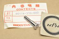 NOS Honda ATC90 ATC200 CA72 CA77 CA95 CA160 CB175 CB350 CB450 GL1000 Handle Bar Lever Pivot Bolt 90114-310-000