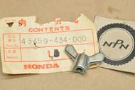 NOS Honda ATC250 ES CR250 CR500 XL250 XL350 XL500 XR80 XR250 XR350 XR500 Brake Adjust Wing Nut 43459-434-000