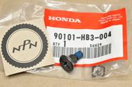 NOS Honda FL400 R Pilot TRX200 TRX300 Fourtrax Fender Splash Guard Screw 90101-HB3-004