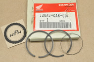 NOS Honda NA50 NC50 NU50 NX50 Express 0.25 Oversize Piston Ring Set for 1 Piston= 3 Rings 130A2-GA6-003
