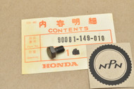 NOS Honda CH125 XL100 XL75 XL80 XR100 R XR75 XR80 R Cam Chain Sprocket Knock Bolt 90081-149-010