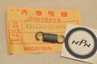 NOS Honda ATC70 C70 C100 C102 C110 CB100 CB125 CT110 CT70 TRX90 Z50 Brake Shoe Pad Spring 45133-028-000