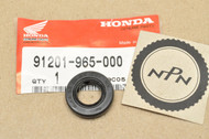 NOS Honda ATC250 CB650 CR125 CR250 TRX250 XL500 XL600 XR500 XR250 Crank Case Oil Seal 91201-965-000