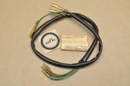 NOS Honda MT125 MT250 Elsinore XL175 XL250 XL350 Tail Light Sub Wire Harness 33713-356-670