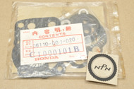 NOS Honda C100 CA100 C102 CA102 C110 CA110 Cylinder Head Top End Gasket Seal Kit 'A' 06110-001-020