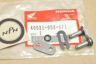 NOS Honda ATC185 ATC200 Big Red ATC250 R ATC350 Drive Chain Master Link Kit 40531-958-671